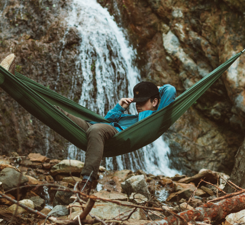 hammock, travel, camping