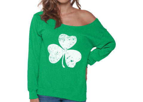 sweatshirt, lucky, St Patrick's Day, St Patty's