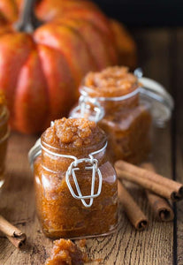 Sugared Pumpkin Candles