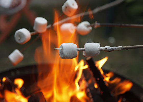 Marshmallow Fireside Candles