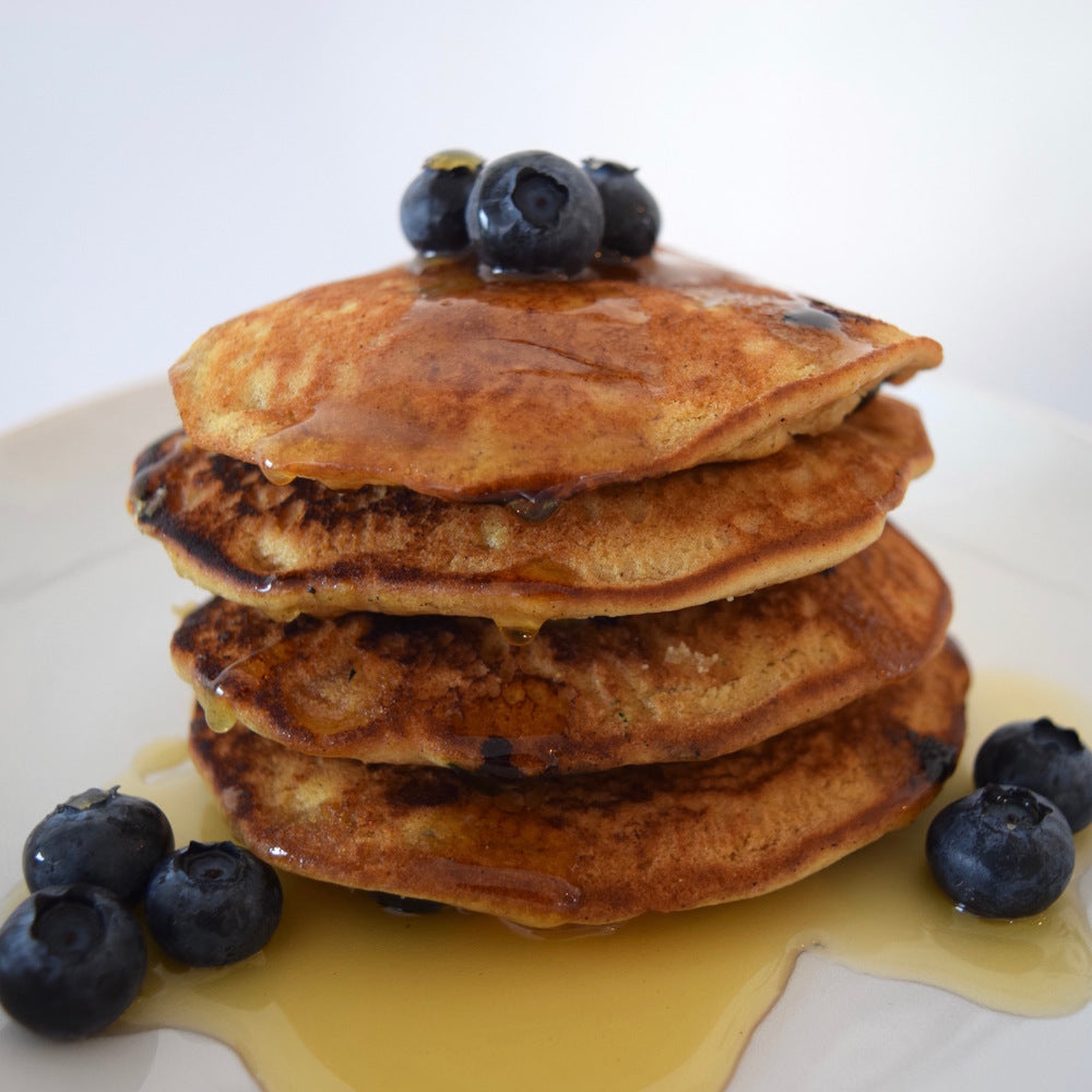 Blueberry Muffin Pancakes