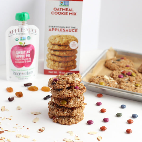 Trail Mix Cookies with Once Upon A Farm