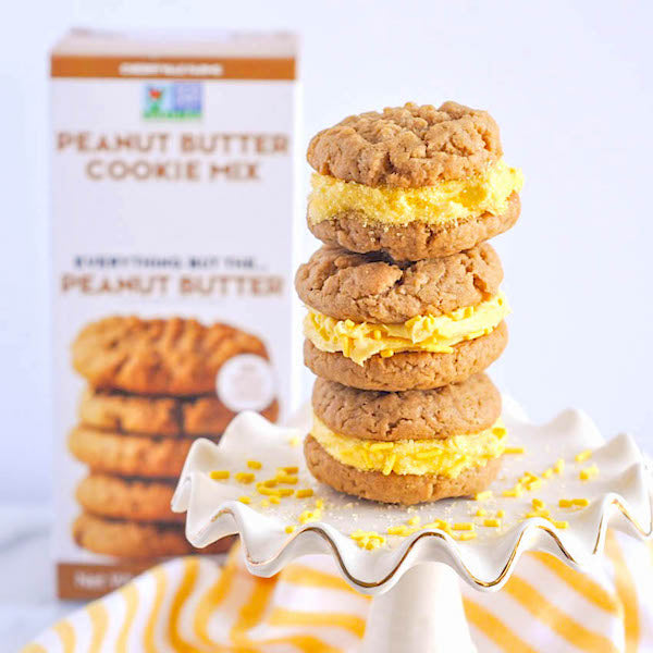 An Easter Treat: Peanut Butter Cookie Sandwiches!