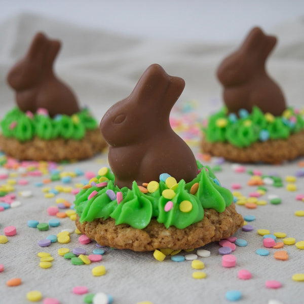 Easter Oatmeal Cookie Treats