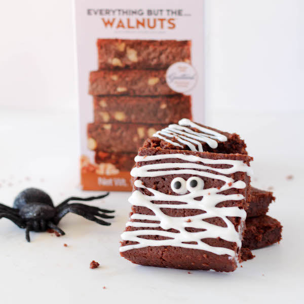 Double Chocolate Brownie Mummies