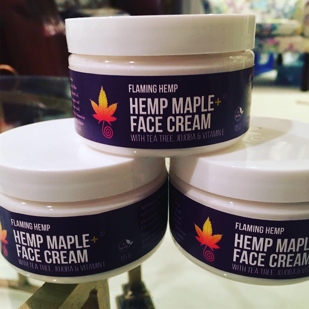 Hemp Maple+ Face Cream