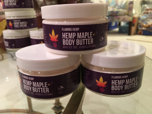 Hemp Maple+ Body Butter