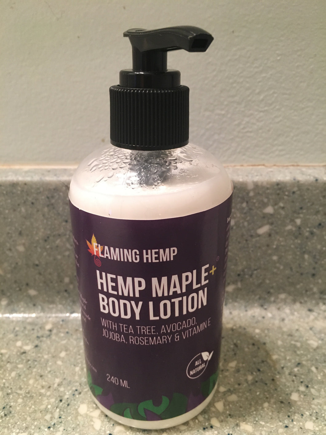 Hemp Maple+ Body lotion