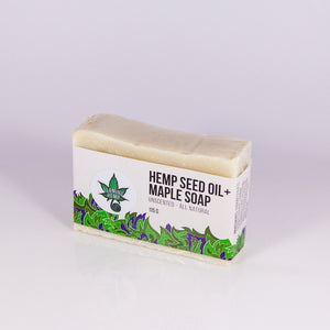 Hemp Maple Olive Oil Soap