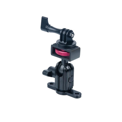 TACKFORM ENDURO SERIES™ LOW PROFILE DRILL BASE ACTION CAMERA MOUNT | SHORT REACH ARM |