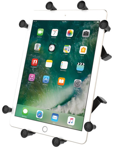 "RAM Mounts X-Grip 9-10"" Tablet Package for Track Mounts"