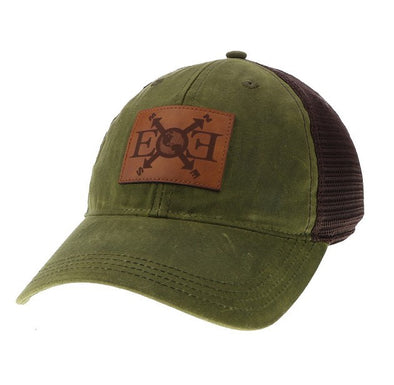 Expedition Essentials Waxed Cotton Hat Dark Olive