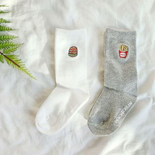 Best Friends Socks (set of 2) Basics Chou La La Fashion Inc. 2T-3T