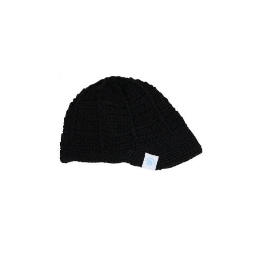 Subscription Boxes for Kids - Black Crochet Baseball Beanie - Choulala Box