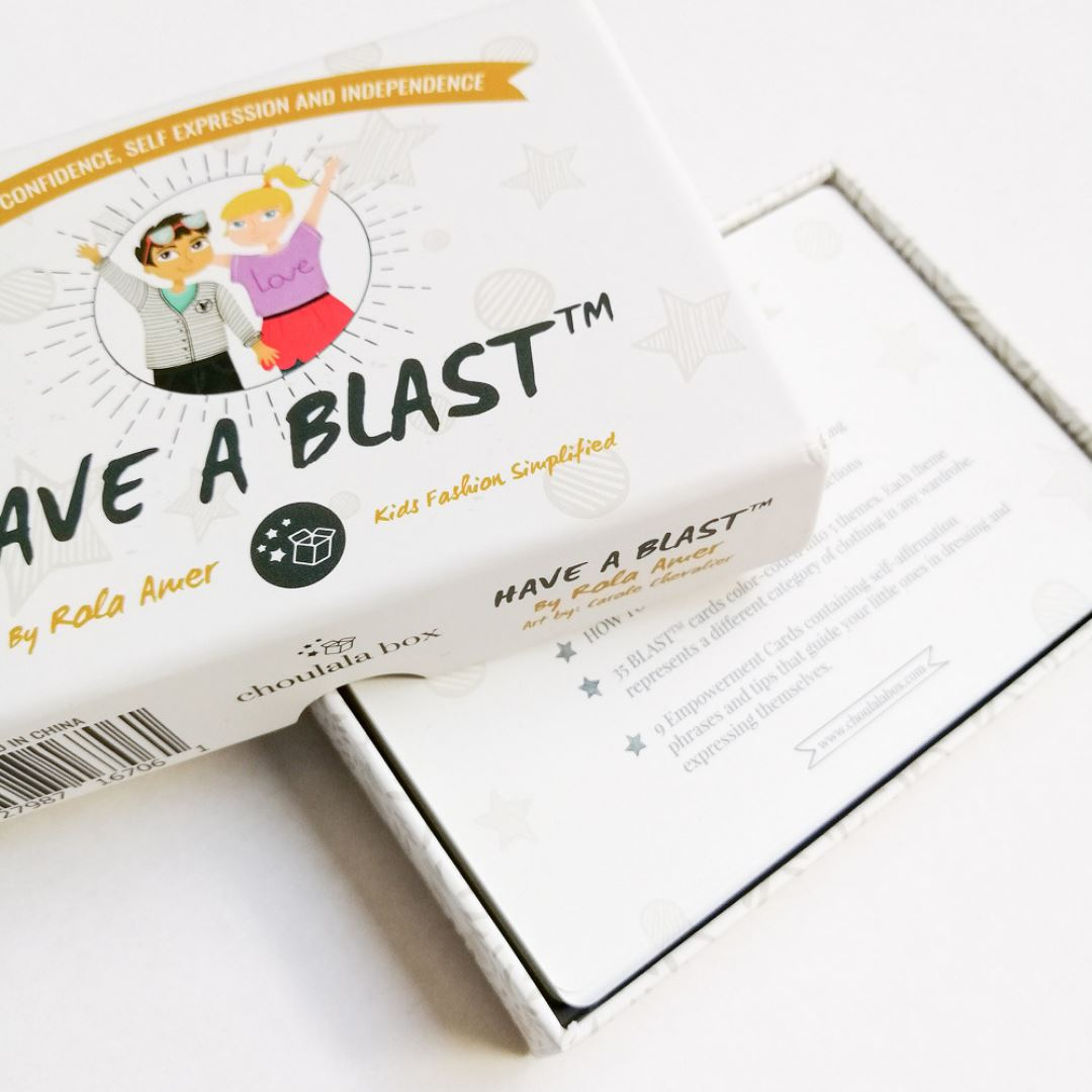 Subscription Boxes for Kids - BLAST™ Flash Cards - Choulala Box