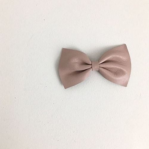 Blushing Darling Leather Bow Basics Chou La La Fashion Inc.