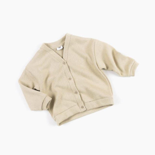 Chica Cardigan Beige Basics Chou La La Fashion 2T-3T