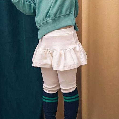 Jayden Ivory Skirt Leggings Basics Chou La La Fashion