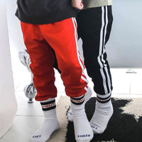 Subscription Boxes for Kids - Neo Retro Lined Joggers (Red) - Choulala Box