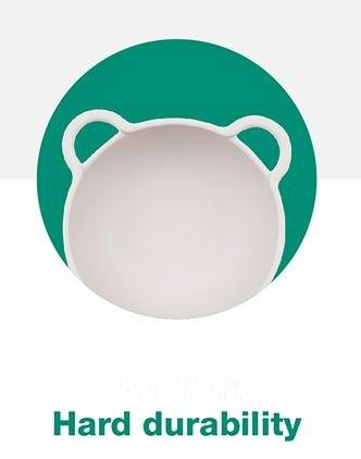 Subscription Boxes for Kids - Polar Bear Eco-Conscious Bamboo Dinnerware (4 piece set) - Choulala Box