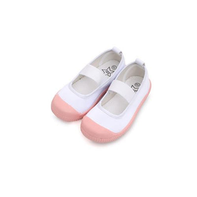 Subscription Boxes for Kids - Regan Champagne Pink Slip-Ons - Choulala Box