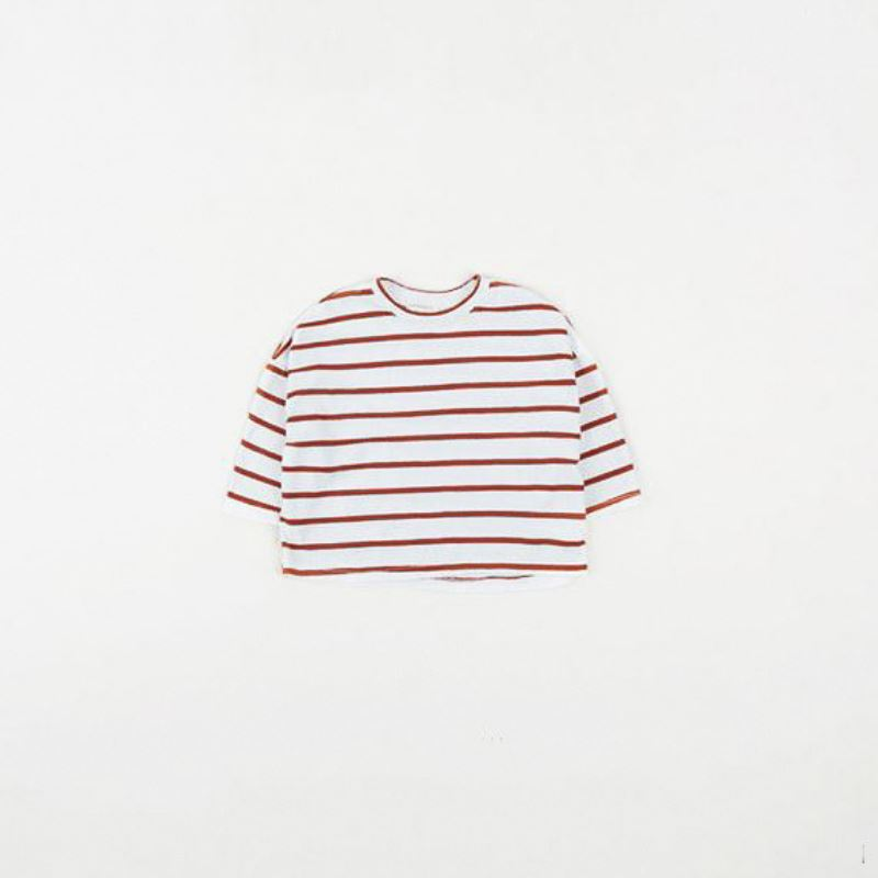 Subscription Boxes for Kids - Sara Stripes Ivory Tee - Choulala Box