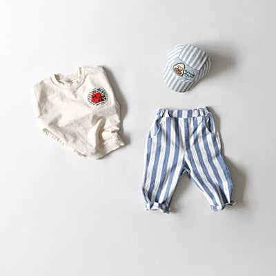 Subscription Boxes for Kids - Steven's Striped Pants - Choulala Box