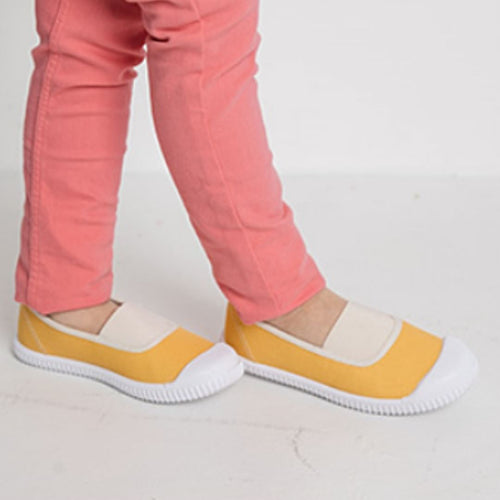Subscription Boxes for Kids - Vivienne Yellow Slip-On - Choulala Box