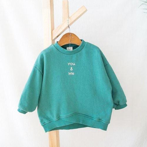 You & Me Mint Sweatshirt Basics Chou La La Fashion Inc.