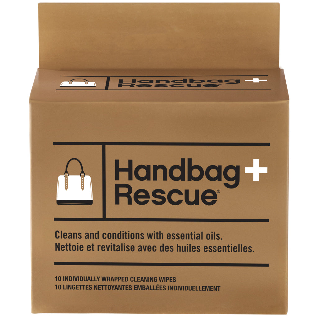 HandbagRescue All-Natural Cleaning Wipes