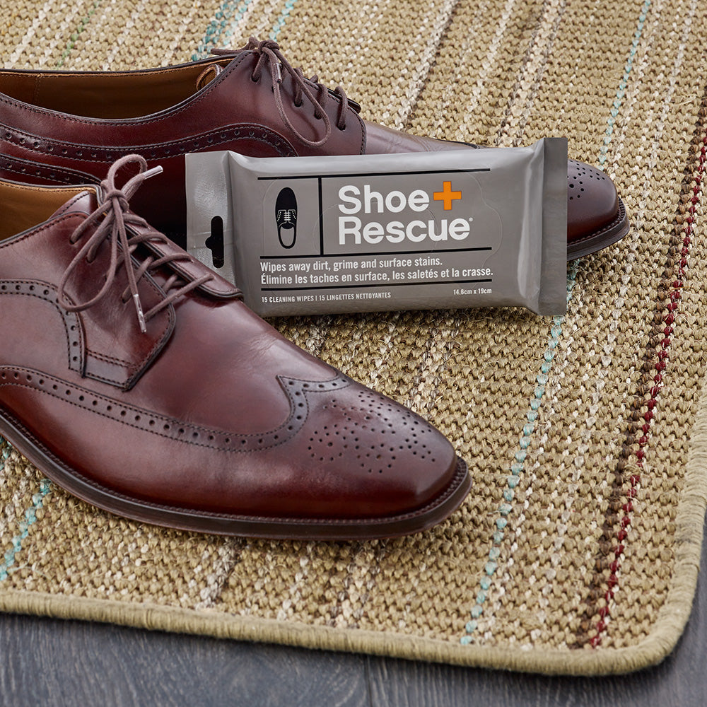 ShoeRescue All-Natural Shoe Cleaning Wipes