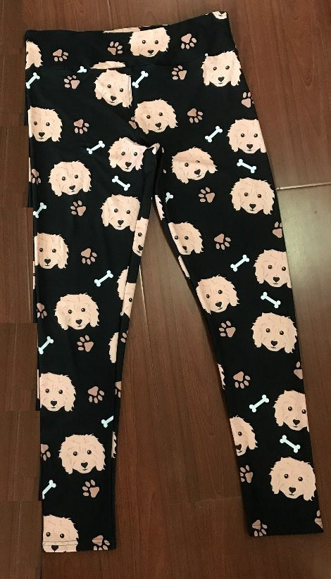 Goldendoodle Leggings