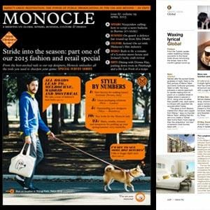 Monocle Was First But Now It's Our Turn: NYKS