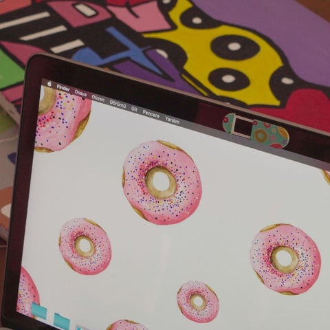Click to shop Donuts Webcam Cover