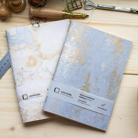 Dream Bluish Handmade Notebook