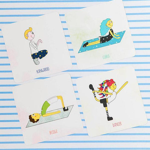 Monkin memory yoga cards