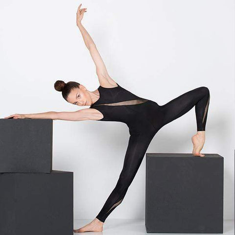 Black Yoga Jumpsuit
