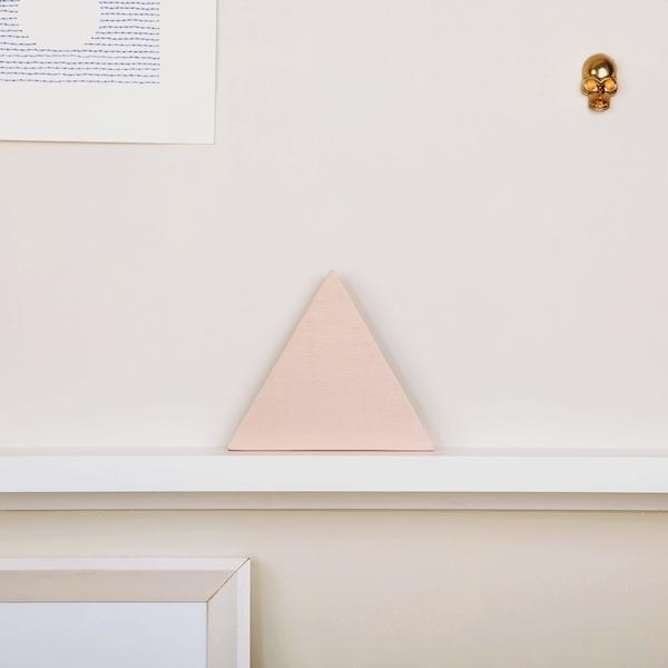 Iron Mountain Wooden Block | Pink - hippist.co.uk
