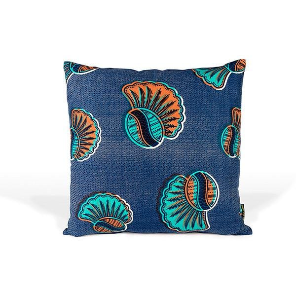 3RD Cutlure navy handmade cushion cover