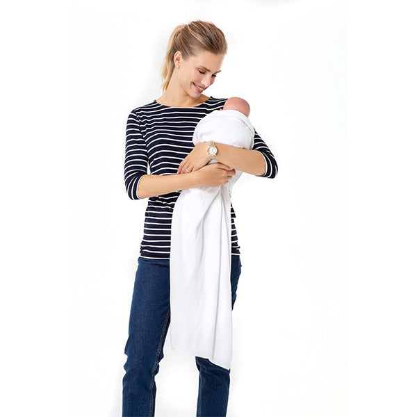 4in1 Multipurpose White Pregnancy and Nursing Knitwear