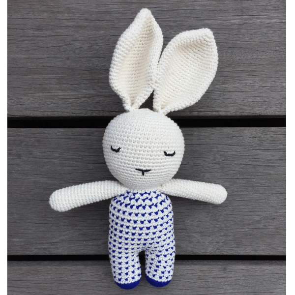 Mon Joie Sleeping Rabbit - Blue Shirt