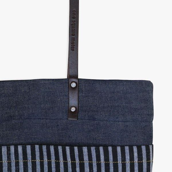 Denim . Tote Bag - hippist.co.uk