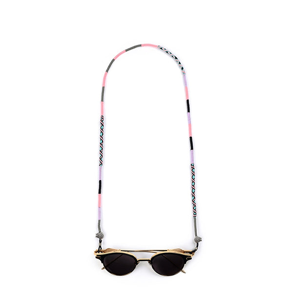 grey lilac pink black blue Eyeglass Lanyard | Celestia - hippist.co.uk