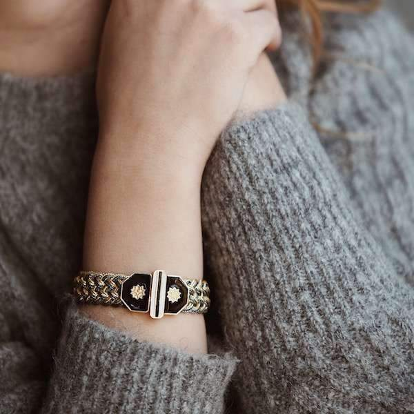 Adel Braid Bracelet | Silver Accessories Luna Merdin