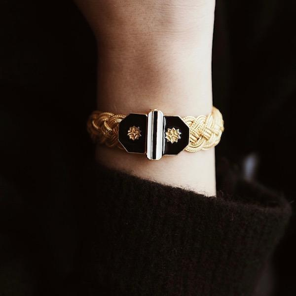 Adel Braid Bracelet | Gold Accessories Luna Merdin