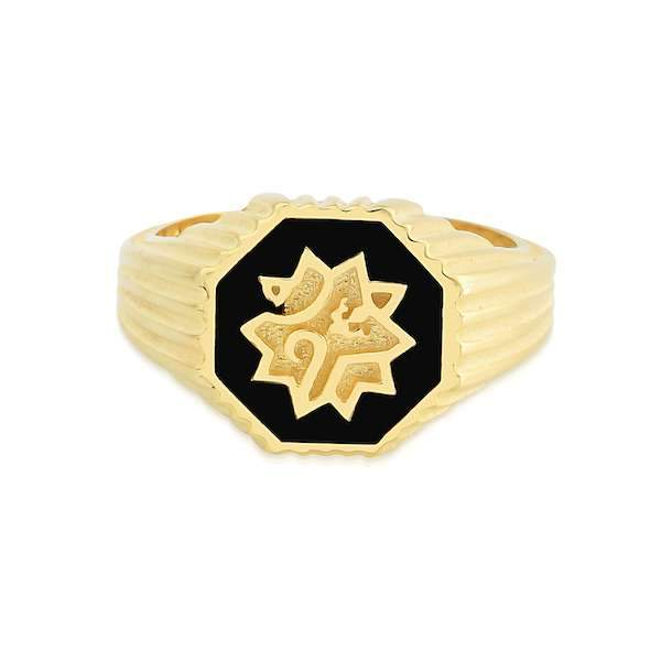 Adel Ring | Small Gold Accessories Luna Merdin