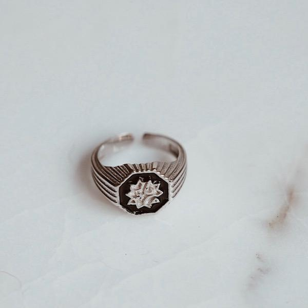 Adel Ring | Small Silver Accessories Luna Merdin