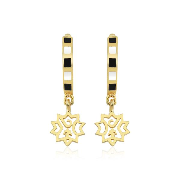 Adel Small Earring | Gold Accessories Luna Merdin