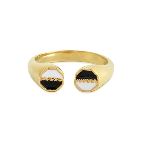 Aden Ring | Duo Gold Accessories Luna Merdin