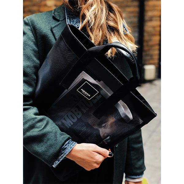 Alexa Shopper Bag | Black